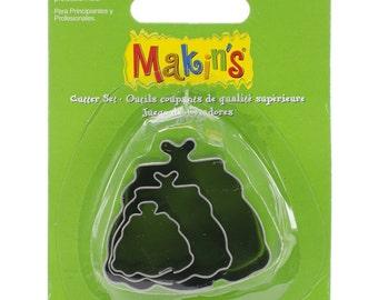 Makin's Clay Cutters (3 Pack) - Handbag - Cookie Cutters