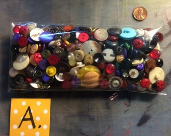Bag of Buttons - A