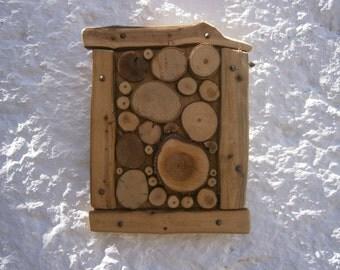 wood art, wall decor, organic art, reclaimed wood slice