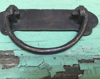 Mid Century Modern Brass Handle