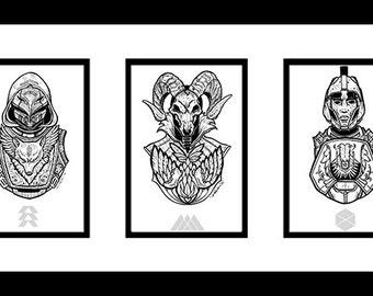 Triple Threat (print bundle)