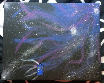 Doctor Who Galaxy Canvas