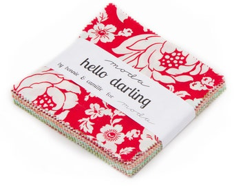 Hello Darling Charm Pack from Moda