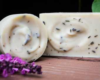 Lavender and Goats Milk Soap. Homemade Soap. Natural Soap. Small Batch Soap. Soap.