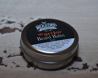 Bearded Barbarian Warrior Beard Balm
