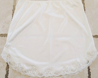 Beautiful Vintage Nylon and Lace Slip