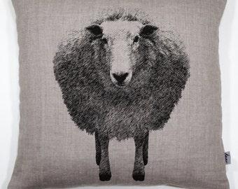 Sheep | 40x40 cm| buckwheat hull pillow