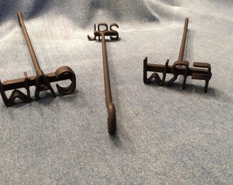 Miniature Branding Iron