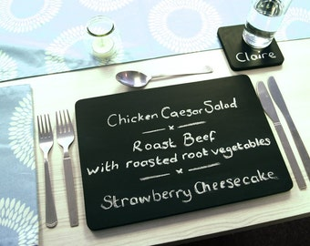 Chalkboard Dining Placemats Set of 4