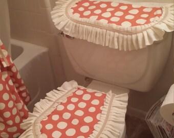 Toilet cover set