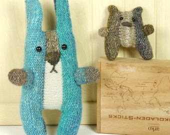 HORST THE RABBIT knitting pattern