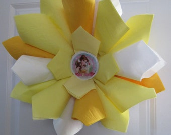 Belle wreath - Beauty and the Beast