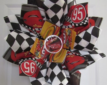 Cars - Lightning McQueen Wreath