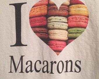 I Love Macarons Tshirt