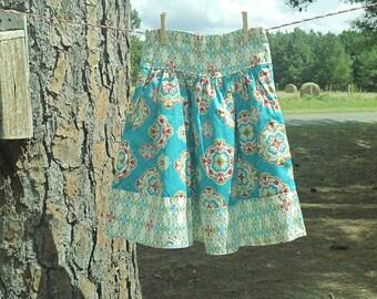 girls skirt, midi skirt, trendy skirt, cute skirt, kids skirts, little girls skirts, gift for girls, christmas gift, birthday gift
