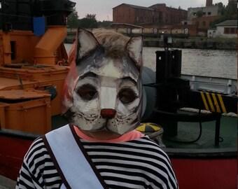 DIY Halloween mask, Cat mask, cat costume, PDF Templates, Instant Download, Printable Mask