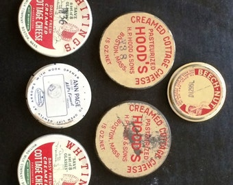 Vintage Assorted Jar Lids