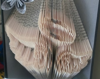 Angel Wings and Halo Book Folding Pattern