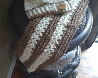 Handmade Crocheted Women's Hat and Scarf