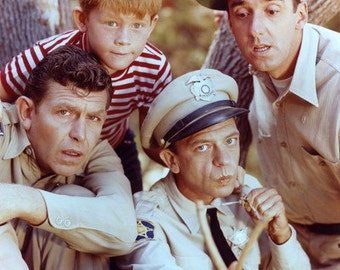 Andy Griffith Men Of Mayberry 8x10 Photograph