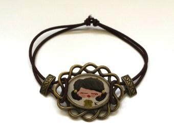 REDUCED - Hand Painted Frame Bracelet