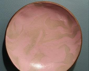PINK COLLECTION Medium Pink Jewelry Dish