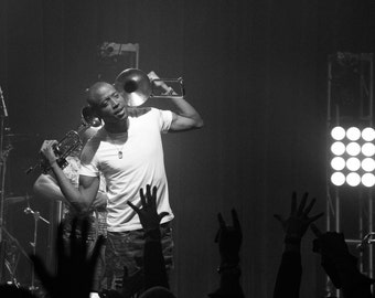 LIMITED EDITION: Trombone Shorty & Orleans Avenue (B+W) - Live at Mercury Ballroom - Louisville, KY