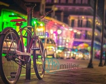 Bicycle Art, New Orleans Photography, Bike Print, New Orleans Art Print,  Bicycle Wall Art, Bike Wall Art, Bicycle Home Decor, Bike
