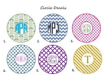 Circle Decals 4