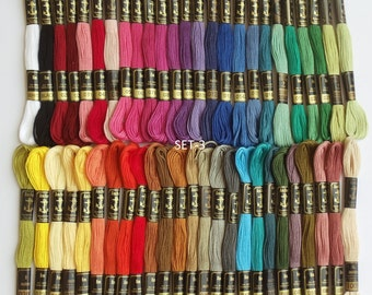 50 Anchor Embroidery Cotton Thread  Skeins / Floss SET-3