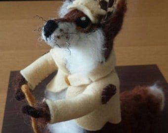 Needlefelted Mr Fox