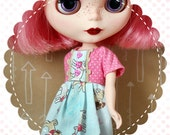 Puppy Playdate / One-of-a-Kind Doll Dress for Blythe