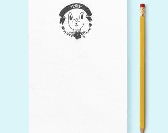 """Corgi """"Notes"""" Notepad"""