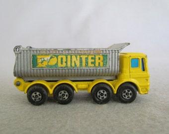 Matchbox Ergomatic Cab 'Pointer' Dump Truck