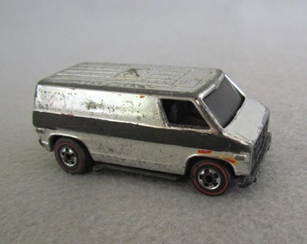 Hot Wheels Chrome Red Line Super Van