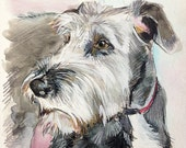 Custom Dog Portrait from your photos