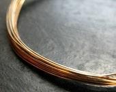 26 gauge Antiqued Brass Dead Soft Wire -  10 feet