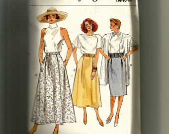 Vogue Misses' Skirt Pattern 9850