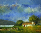 Cottage, Isle of Skye (2) - limited edition print