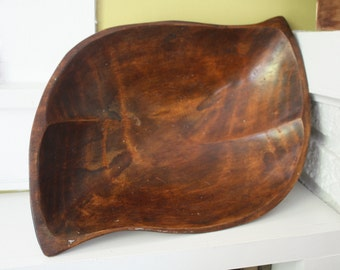 Large Monkeypod Wood Bowl / Monkey Pod / Raintree / Burled