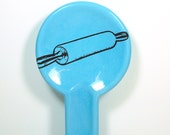 spoon rest rolling pin - Made to Order / Pick Your Colour