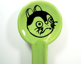 spoon rest fortune kitty - Made to Order / Pick Your Colour