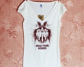 Hold Your Horses Lady Tee