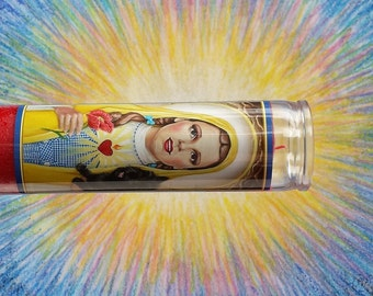 Our Lady of the Plains Candle