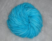 Turquoise Kettle Dyed 62 yards 3.5 oz Slimmer Thick n Thin  Merino