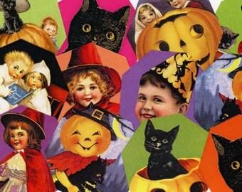 Digital Collage Sheet - Halloween 35