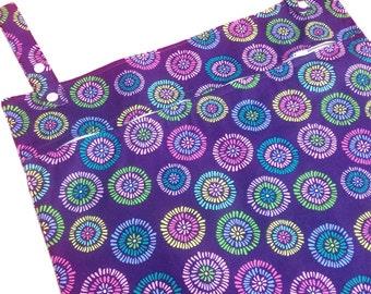 Lily 17x34 cloth diaper wetbag