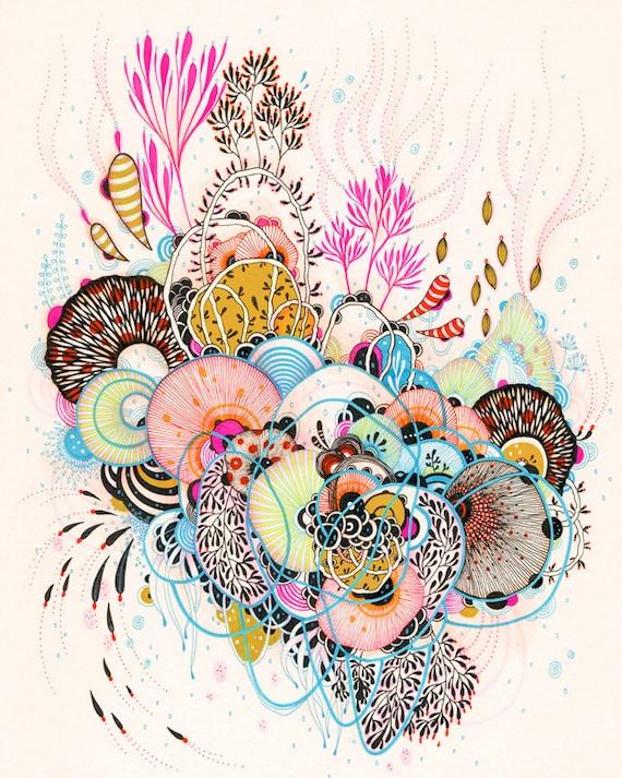 Glimpse - 11x14- Print