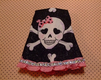 Blythe/DAL Doll Dress - Love In Her Skully Eyes - CLEARANCE ITEM