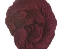 Cotton Classic ~ Tahki * Stacy Charles ~ 100% mercerized cotton yarn ~ Color #3747 Dark Burgundy